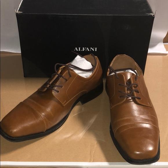 Alfani Shoes | Alfani Mens Adam Cap Toe